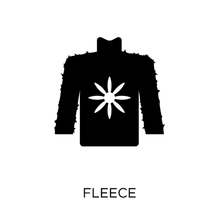 Fleece icon. Fleece symbol design from Clothes collection. Simple element vector illustration on white background.