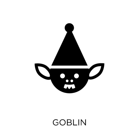 Goblin icon. Goblin symbol design from Fairy tale collection. Simple element vector illustration on white background.