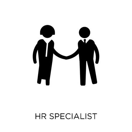 HR Specialist icon. HR Specialist symbol design from Professions collection. Simple element vector illustration on white background.