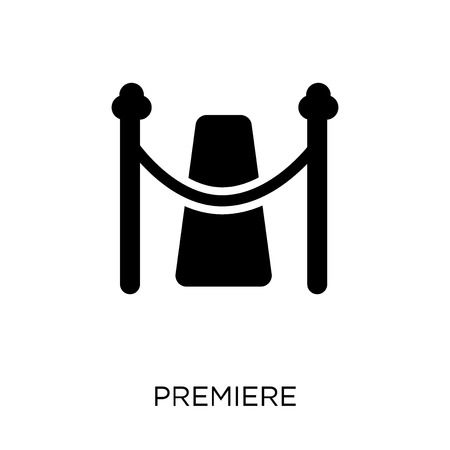 Premiere icon. Premiere symbol design from Cinema collection. Simple element vector illustration on white background.