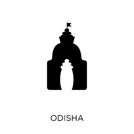 odisha icon. odisha symbol design from India collection. Simple element vector illustration on white background.