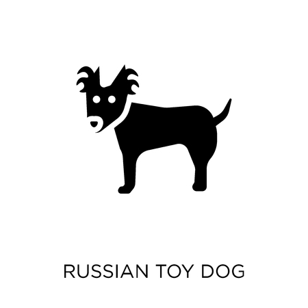 Russian Toy dog icon. Russian Toy dog symbol design from Dogs collection. Simple element vector illustration on white background.