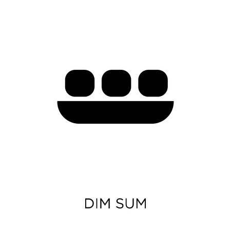Dim sum icon. Dim sum symbol design from Restaurant collection. Simple element vector illustration on white background. Illustration
