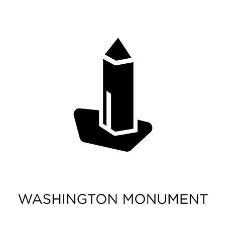 Washington monument icon. Washington monument symbol design from United states of america collection. Simple element vector illustration on white background.