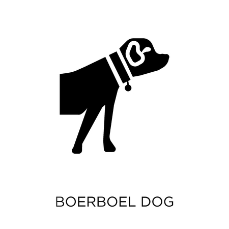 Boerboel dog icon. Boerboel dog symbol design from Dogs collection. Simple element vector illustration on white background.