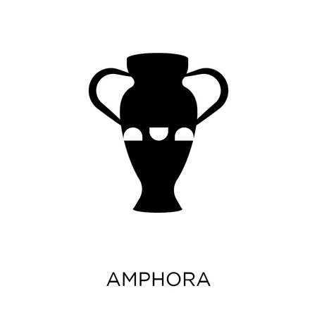 Amphora icon. Amphora symbol design from Desert collection. Simple element vector illustration on white background. Illustration