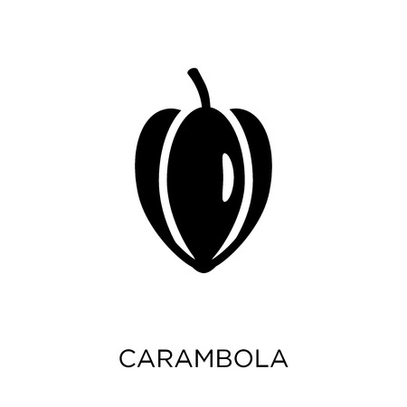 Carambola icon. Carambola symbol design from Fruit and vegetables collection. Simple element vector illustration on white background.