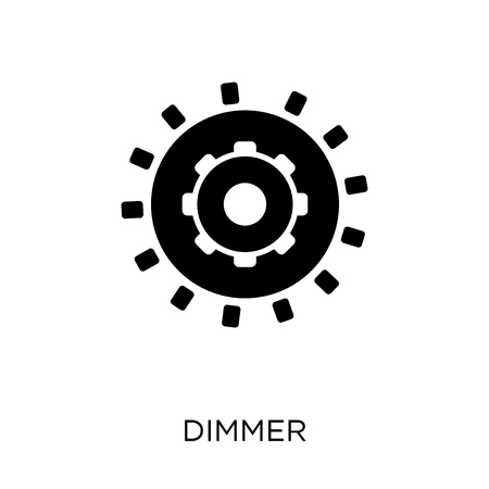 Dimmer icon. Dimmer symbol design from Smarthome collection. Simple element vector illustration on white background.