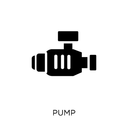 Pump icon. Pump symbol design from Industry collection. Simple element vector illustration on white background.