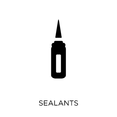 Sealants icon. Sealants symbol design from Dentist collection. Simple element vector illustration on white background. 일러스트