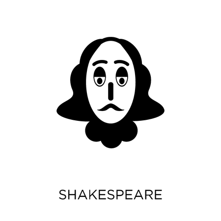 Shakespeare icon. Shakespeare symbol design from Cinema collection. Simple element vector illustration on white background.