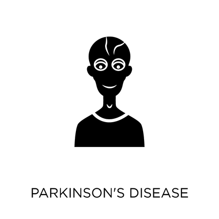 Parkinsons disease icon. Parkinsons disease symbol design from Diseases collection. Simple element vector illustration on white background. Illustration