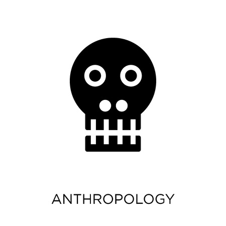 Anthropology icon. Anthropology symbol design from Museum collection. Simple element vector illustration on white background. Illustration