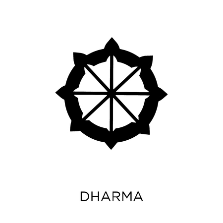Dharma icon. Dharma symbol design from India collection. Simple element vector illustration on white background.