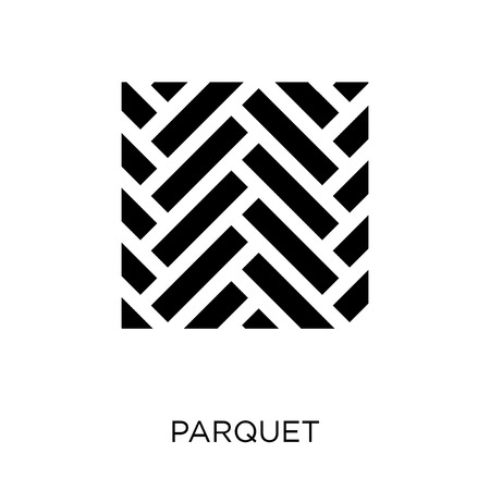 Parquet icon. Parquet symbol design from Construction collection. Simple element vector illustration on white background.