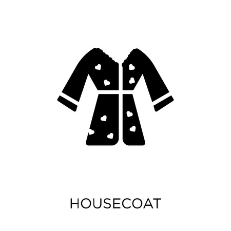 Housecoat icon. Housecoat symbol design from Clothes collection. Simple element vector illustration on white background. Çizim