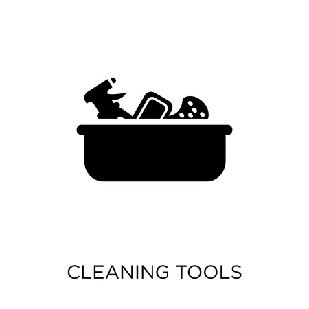 Cleaning tools icon. Cleaning tools symbol design from Cleaning collection. Simple element vector illustration on white background.