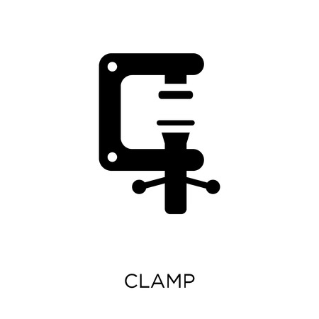 Clamp icon. Clamp symbol design from Industry collection. Simple element vector illustration on white background.