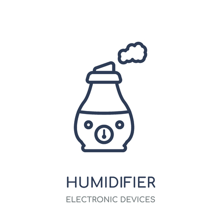 humidifier icon. humidifier linear symbol design from Electronic devices collection. Фото со стока - 111820665