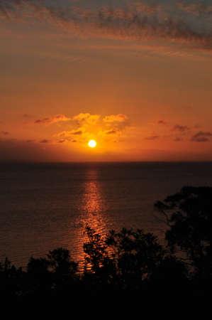 coucher de soleil: Coucher de soleil sur Gippsland Lakes