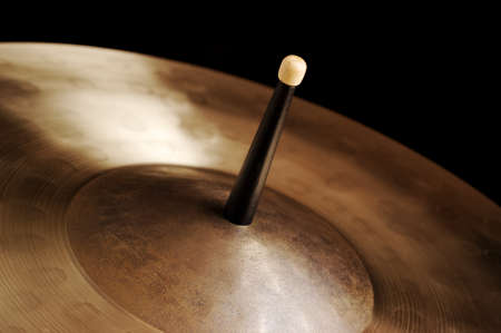 cymbal: Drumstick and Cymbal