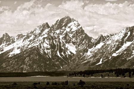 wyoming: Tetons in Grand Teton National Park, yellowstone wyoming