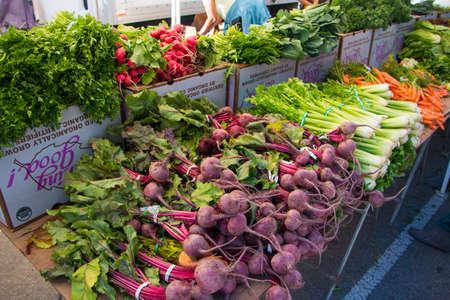 Farmers Market Vegetables photo