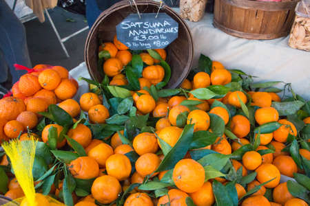 formers: Bucket of Oranges on Display at Formers Market