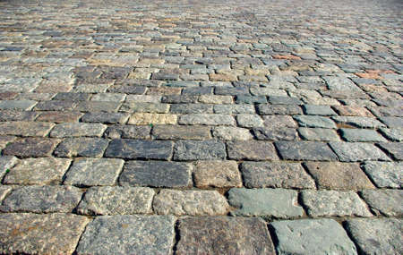 Image cobblestones as background photo
