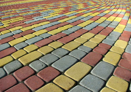 Image colored pavement as background photo