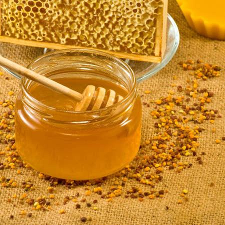蜂産品 写真素材