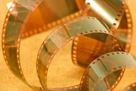 photographic: image of photographic film closeup Stock Photo