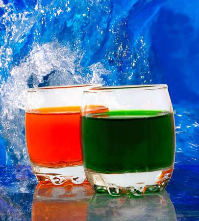 alcoholic drinks: image of alcoholic drinks closeup