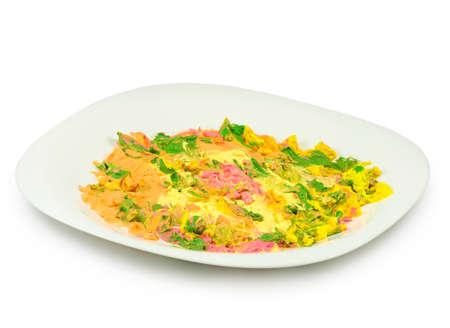 dirtiness: image of dessert on a plate closeup