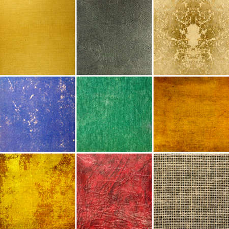 colorful grunge: Image of various beautiful abstract backgrounds close-up Stock Photo