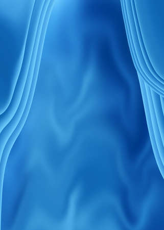 sensuous: abstract blue background Stock Photo