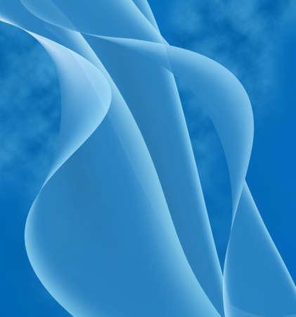 sensuous: beautiful blue background close-up