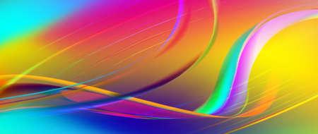 illustratie van kleurrijke abstracte achtergrond close-up