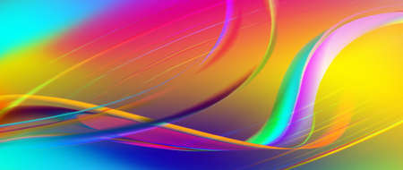 illustration of colorful abstract background close-up Stock Photo