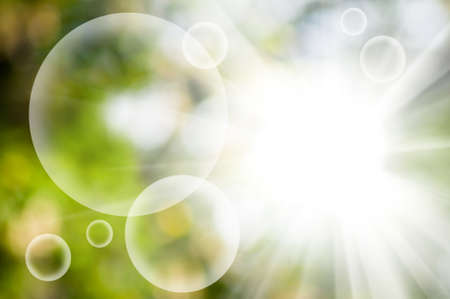clarity: image of natural green background close-up Stock Photo
