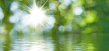 image abstraite de la nature de fond de l'eau gros plan