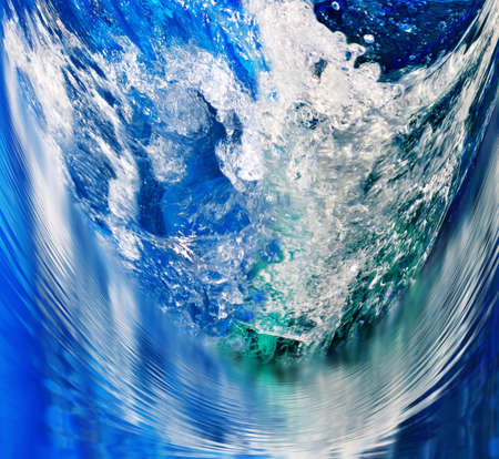 image of ocean wave as a background Stock Photo