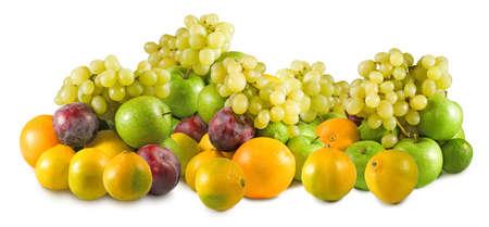 Isolated image of fruits close up Stock Photo