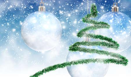 Beautiful Christmas card. Greeting Christmas card closeup. Designer Christmas card.