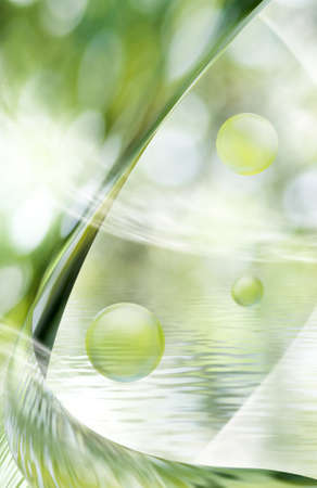 abstract image of water background closeup