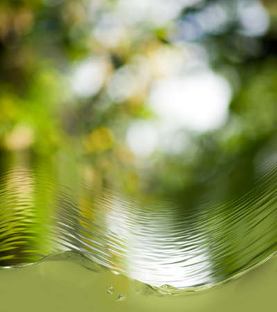 Abstract  image of water closeup Stock Photo