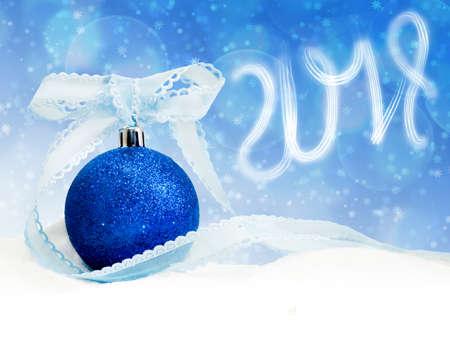 Image of Christmas card closeup