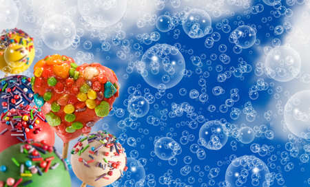 image of delicious sweets closeup Stock Photo