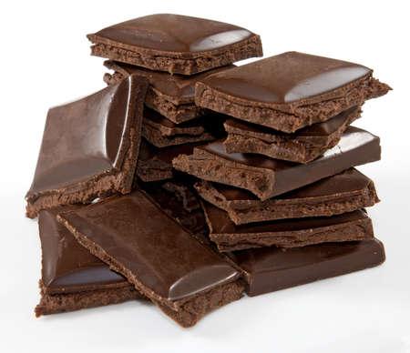 isolated chocolate image on white background