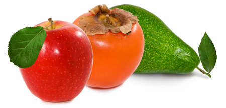 Isolated image of fruits close-up 스톡 콘텐츠